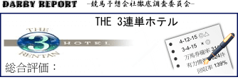 THE 3連単ホテル